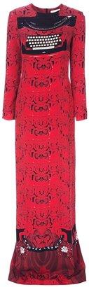 Mary Katrantzou 'Typo-Long' dress