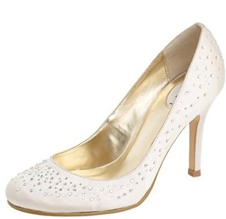 Debut Ivory round toe ombre shoes