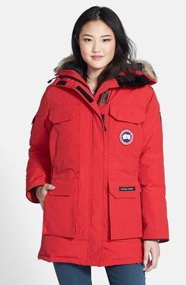Women's Canada Goose 'Expedition' Relaxed Fit Down Parka With Genuine Coyote Fur $995 thestylecure.com