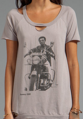 """Chaser Ride"""" Jimmy Cliff Cotton Deconstructed Short Sleeve"""