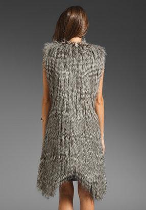 AGAIN Arthur Faux Fur Vest