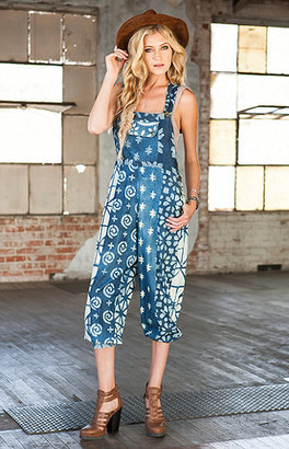 Saltwater Gypsy Neptune Printed Overalls