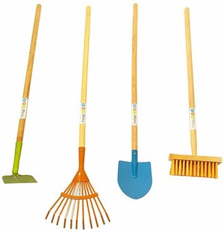 Twigz Long Tools Gardening Set of 4, Multicolour