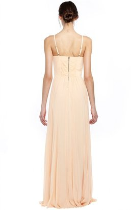Alice + Olivia Percie Bustier Maxi Dress