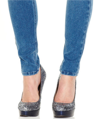 Tinseltown Juniors Jeans, Skinny Medium Wash