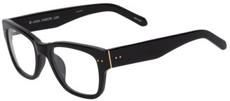 Linda Farrow Luxe thick frame sunglasses