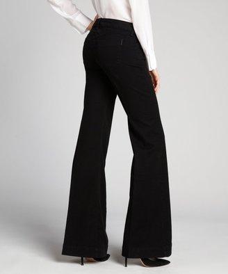 Siwy black stretch denim 'Penelope' flare jeans