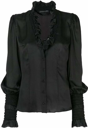 Alexander McQueen Pre-Owned 2000 silk blouse