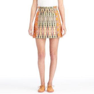 Rachel Roy Mix Print Skirt