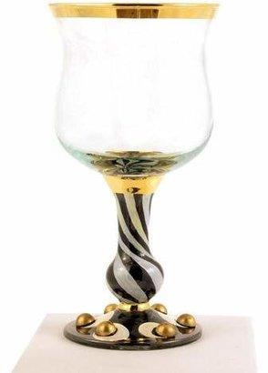 Mackenzie Childs MacKenzie-Childs Tango Wine Glass