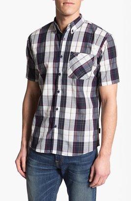 Brixton 'Lisbon' Short Sleeve Plaid Shirt