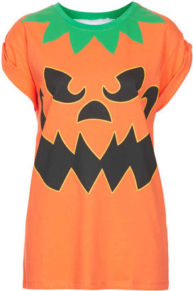 Topshop Pumpkin Tee By Tee And Cake