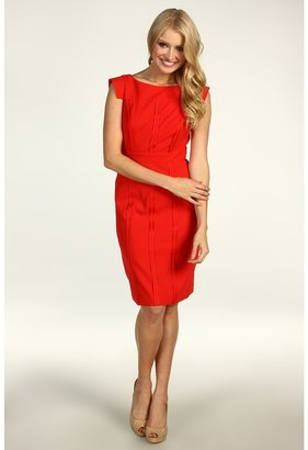 Vince Camuto Sheath Dress VC2A1162 (Red) - Apparel