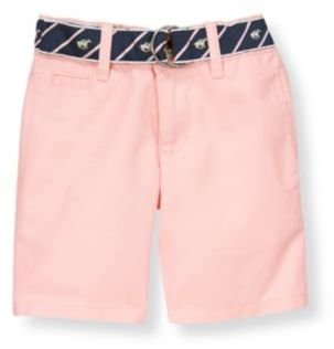 Janie and Jack Belted Linen Blend Short