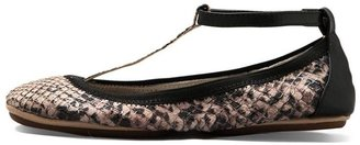 Yosi Samra T Strap Leather Ballet Flat