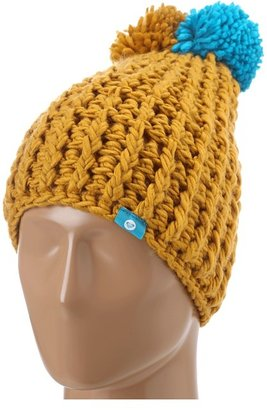 Roxy Flat Iron Beanie (Sunflower) - Hats