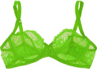 Deborah Marquit Giardino di Fiori Italian lace underwired bra