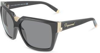 DSquared Signature Acetate Square Frame Sunglasses
