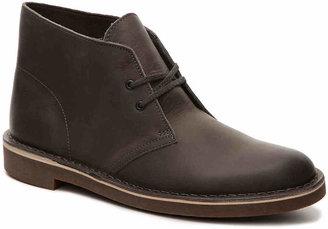 Clarks Bushacre Leather Chukka Boot - Men's