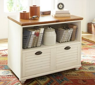"""Pottery Barn Whitney 36"""" Lateral File Cabinet"""