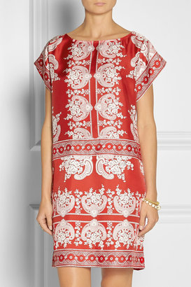 Collette Dinnigan Collette by Paisley-print silk dress