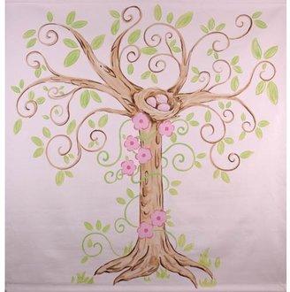 Enchanted Tree Canvas Mural