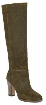 Pour La Victoire Reese Split Suede Heeled Boots