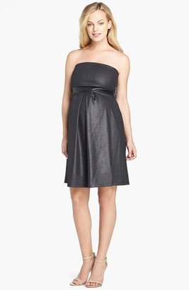 Women's Maternal America Strapless Dress $158 thestylecure.com