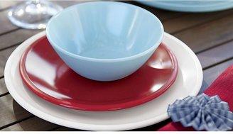 Crate & Barrel Lunea Melamine Blue Bowl
