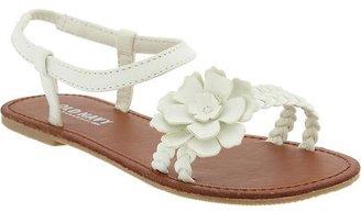 Old Navy Girls Flower-Applique Sandals