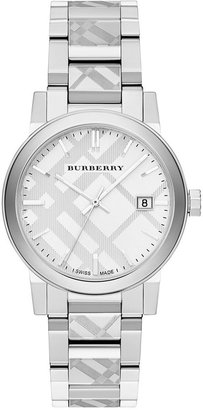 Burberry Unisex Swiss Stainless Steel Bracelet Watch 38mm BU9037 $595 thestylecure.com