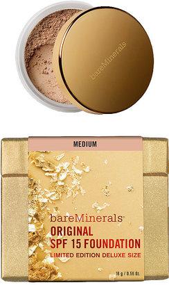 bareMinerals Deluxe Original SPF 15 Foundation ($54 value), Medium 0.6 oz (18 g)