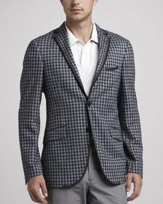 Etro Check Knit Sport Coat