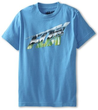 Fox Razor Shot S/S Tee (Big Kids) (Electric Blue) - Apparel