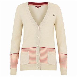 Merc Claire Cardigan Vintage White