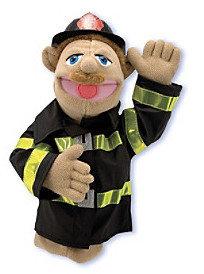 Melissa & Doug Melissa Doug Firefighter Puppet