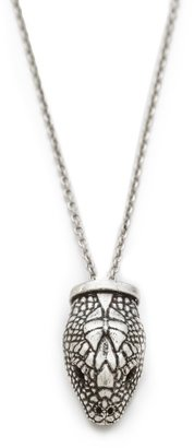 Pamela Love Small Serpentine Pendant Necklace