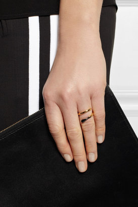 Stella McCartney Matchstick gold-tone ring