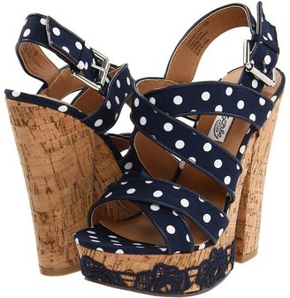 Naughty Monkey Bourdois (Navy) - Footwear