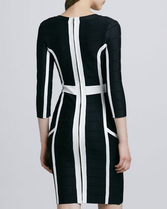 French Connection Spotlight Spring Graphic Bandage Dress