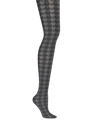 DKNY Bold Houndstooth Printed Tights