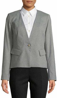 Karl Lagerfeld PARIS One Button Blazer