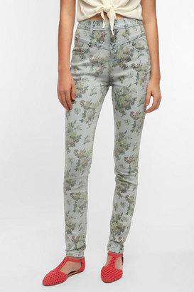BDG High-Rise Seamed Jean - Floral