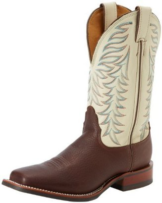 Nocona Boots Women's Dark Brown Worn Saddle Boot