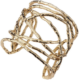 Kendra Scott Gold-Plated Patricia Bamboo Cuff