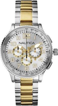Nautica Men's N26532M OCN 38 MID Br. Chronograph Watch