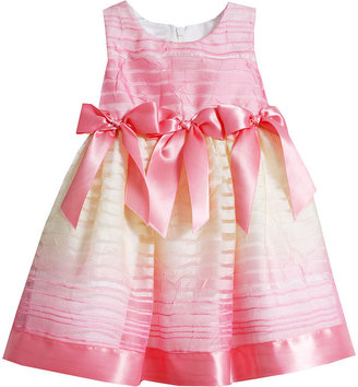 Bonnie Baby Baby Girls' Ombre Bow Dress