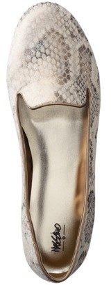Mossimo Women's Olivette Snake Skin Tuxedo Flat - Gold