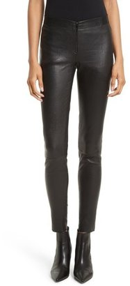 Women's Alice + Olivia Leather Leggings