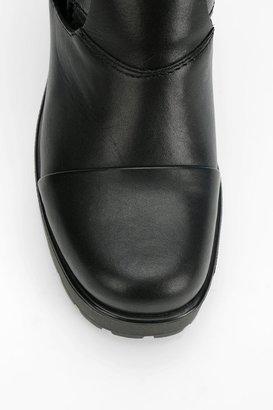 Vagabond Double-Buckle Cutout Platform Boot